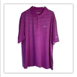 Pronghorn golf Nike polo pink men's 7793 dry fit